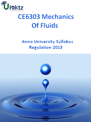 Mechanics Of Fluids Syllabus