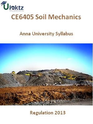 Soil Mechanics Syllabus