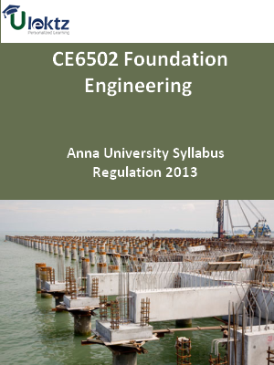 Foundation Engineering Syllabus