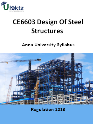 Design Of Steel Structures Syllabus