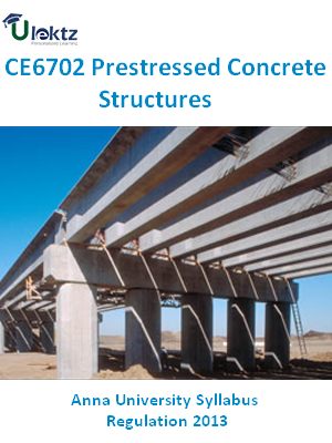 Prestressed Concrete Structures Syllabus