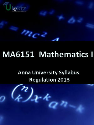 Mathematics – I Syllabus