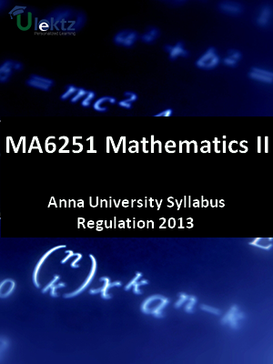 Mathematics - II Syllabus