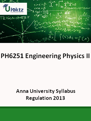 Engineering Physics –II Syllabus