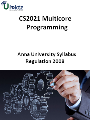 Multicore Programming  Syllabus