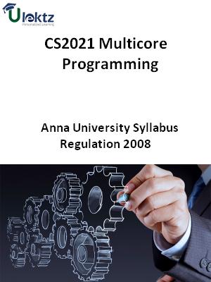 Multicore Programming  Syllabus