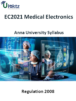 Medical Electronics - Syllabus