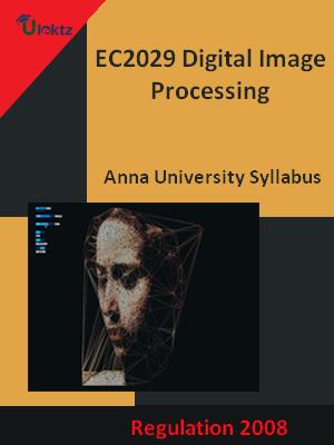 Digital Image Processing - Syllabus