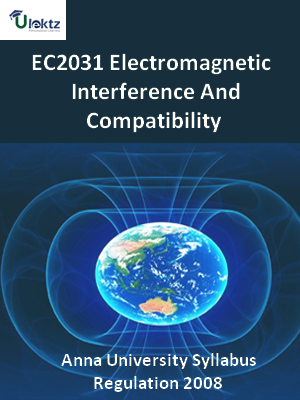 Electromagnetic Interference And Compatibility  Syllabus
