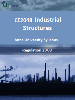 Industrial Structures - Syllabus