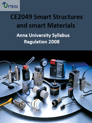 Smart Structures and smart Materials - Syllabus