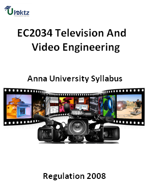Television And Video Engineering  Syllabus