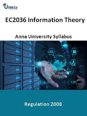 Information Theory  Syllabus