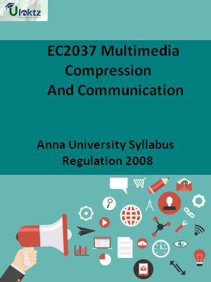 Multimedia Compression And Communication - Syllabus