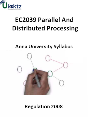Parallel And Distributed Processing - Syllabus