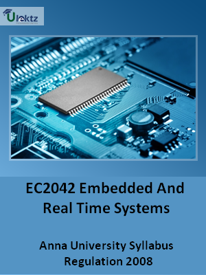 Embedded And Real Time Systems  Syllabus