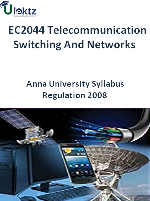 Telecommunication Switching And Networks   Syllabus