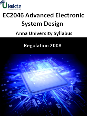 Advanced Electronic System Design  Syllabus