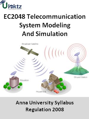 Telecommunication System Modeling And Simulation - Syllabus