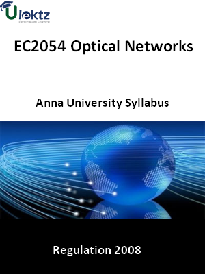 Optical Networks  Syllabus