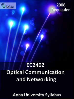 Optical Communication and Networking - Syllabus