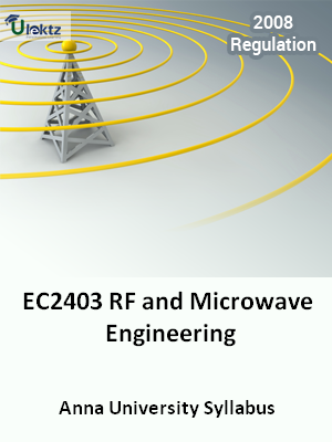 RF and Microwave Engineering - Syllabus