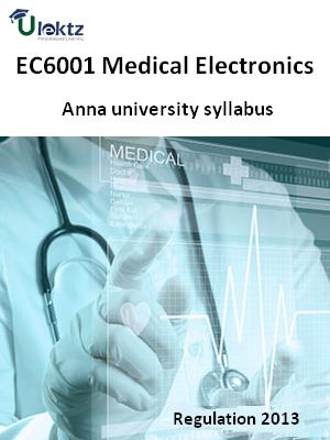 Medical Electronics - Syllabus