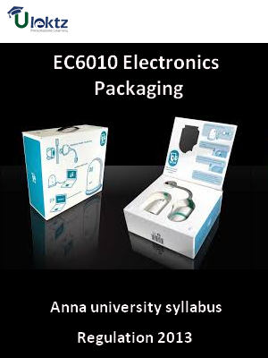 Electronics Packaging - Syllabus