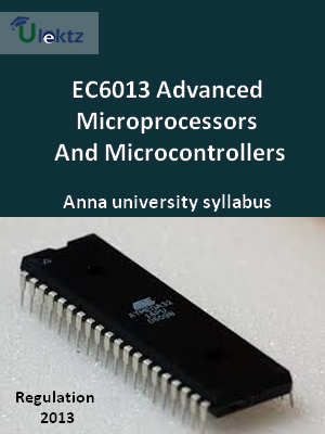 Advanced Microprocessors And Microcontrollers - Syllabus
