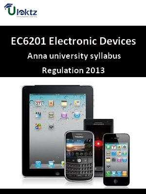 Electronic Devices - Syllabus