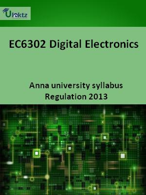 Digital Electronics - Syllabus