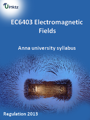 Electromagnetic Fields - Syllabus