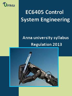 Control System Engineering - Syllabus