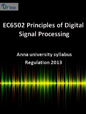 Principles of Digital Signal Processing - Syllabus
