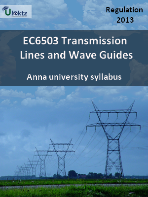 Transmission Lines and Wave Guides - Syllabus