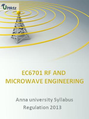 RF and Microwave Engineering - Syllabus