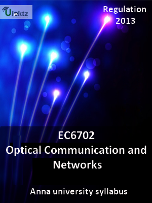 Optical Communication and Networks - Syllabus