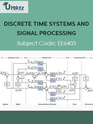 Discrete Time Systems And Signal Processing