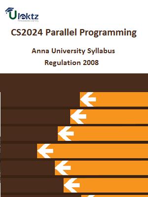 Parallel Programming - Syllabus