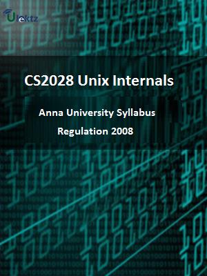 Unix Internals - Syllabus