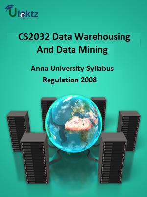 Data Warehousing And Data Mining - Syllabus