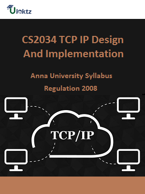 TCP IP Design And Implementation - Syllabus
