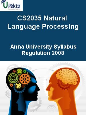 Natural Language Processing - Syllabus