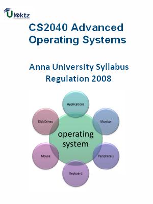 Advanced Operating Systems - Syllabus