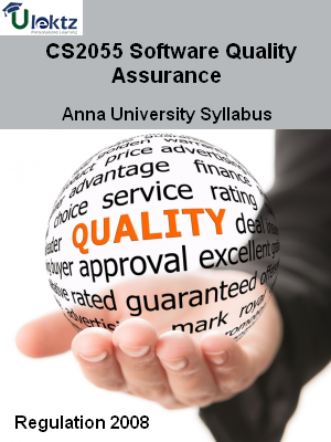 Software Quality Assurance - Syllabus