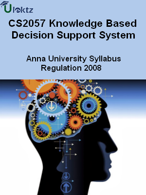 Knowledge Based Decision Support System - Syllabus