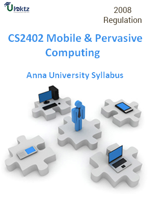 Mobile and Pervasive Computing - Syllabus
