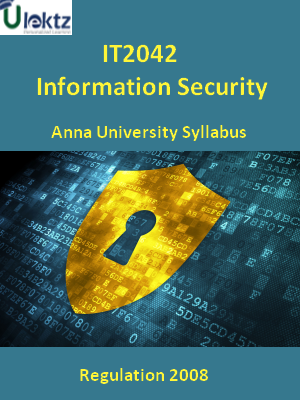 Information Security - Syllabus