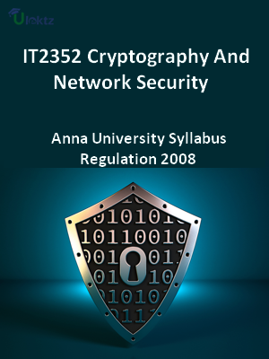 Cryptography And Network Security - Syllabus