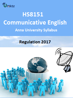 Communicative English - Syllabus